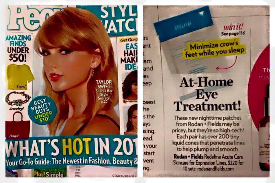 redefine acute care in people's magazine